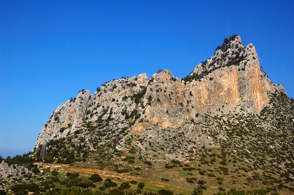 На перевале по дороге из Кирении в Фамагусту