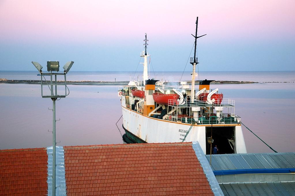 В порту Фамагусты. Вид с крепостной стены