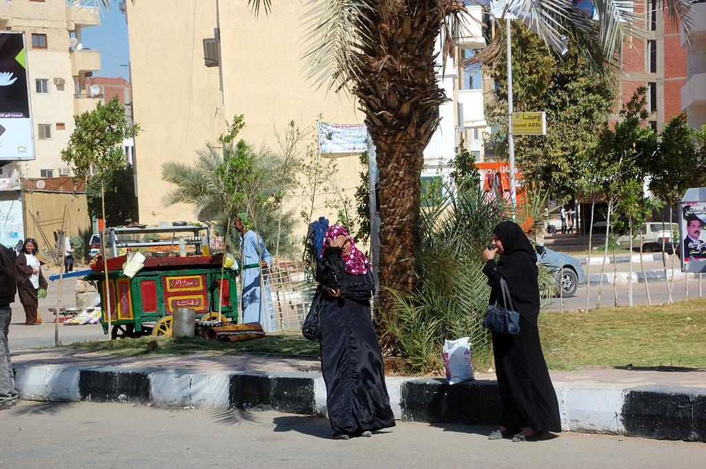На улицах Асуана