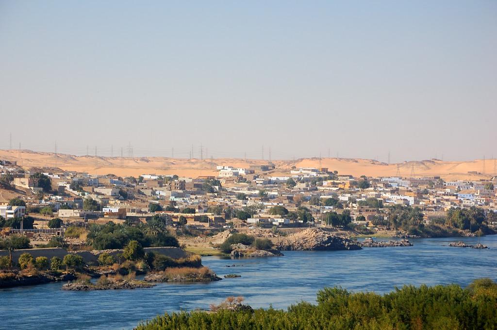 Вид на Нил с английской плотины