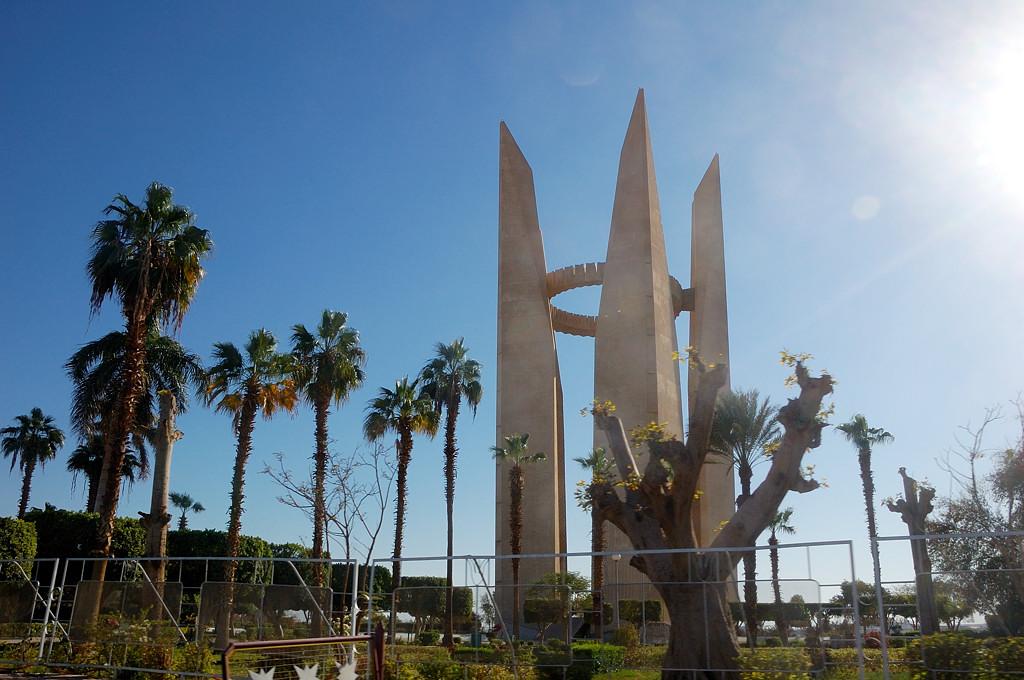 Памятник советско-египетской дружбе