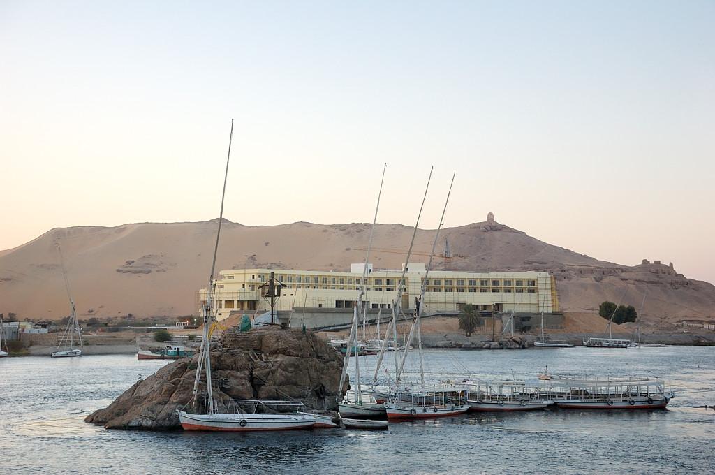 Вид на Нил с набережной