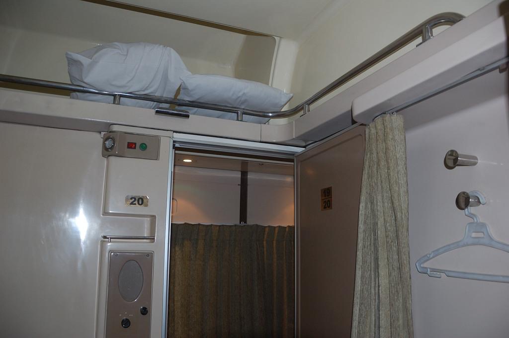 В вагоне поезда Асуан-Луксор