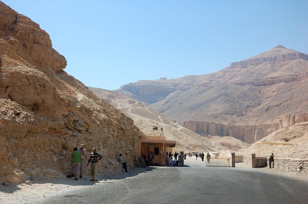 Долина Царей, у входа