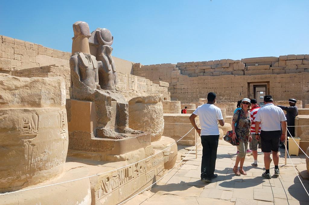 Храм Рамзеса III - Мединет-Абу
