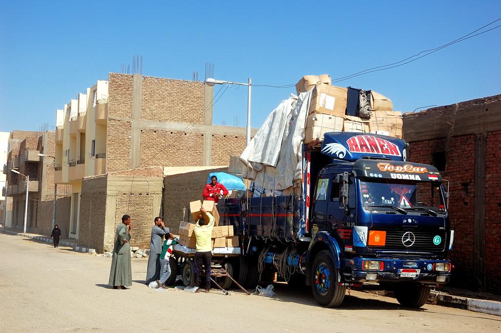 Типичные для Египта и Южной Америки недостроенные дома