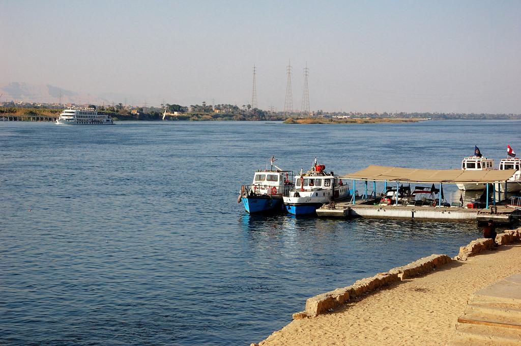 На набережной Нила