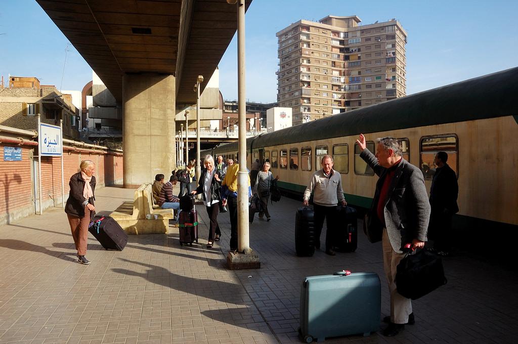 На вокзале Эль-Гиза