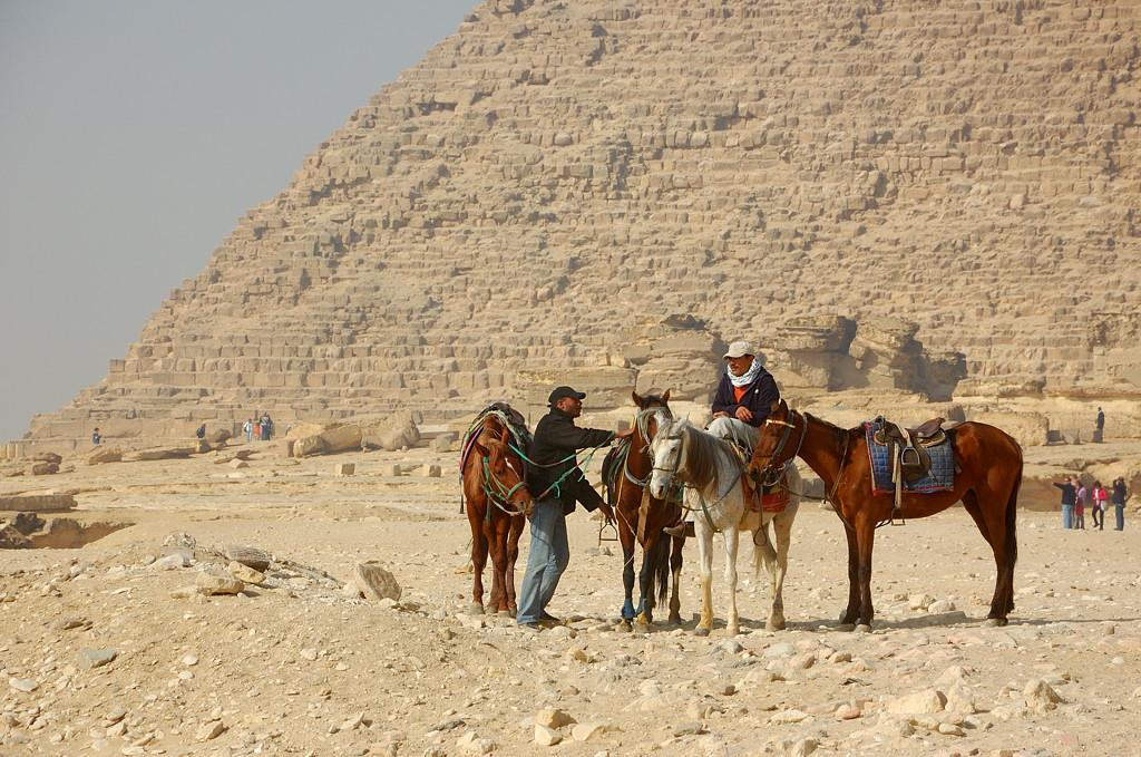 У пирамид