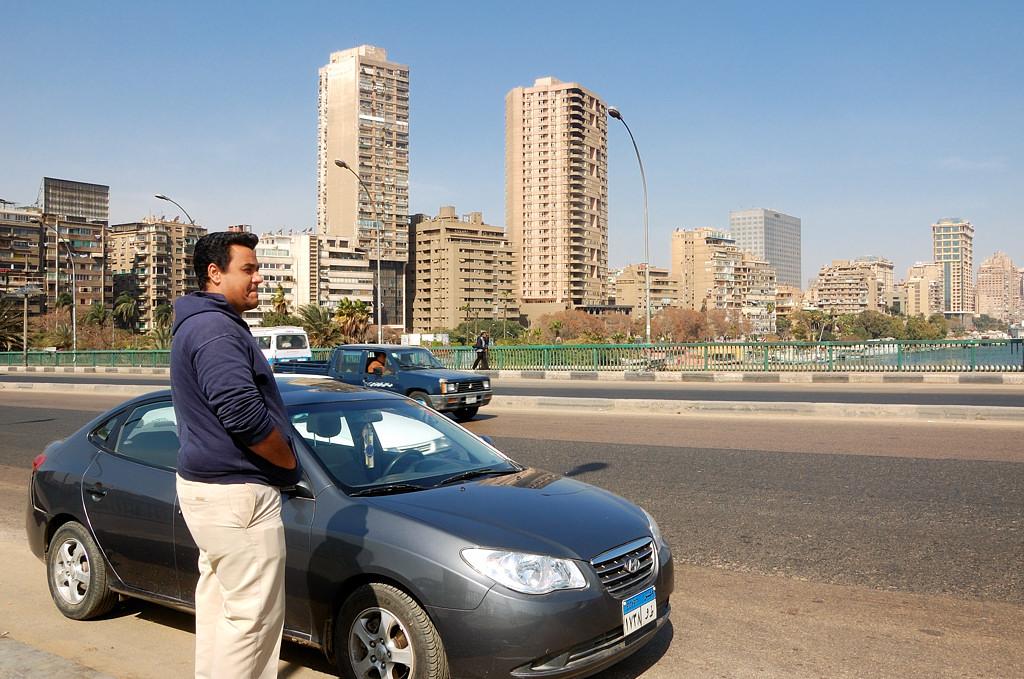 На мосту через Нил