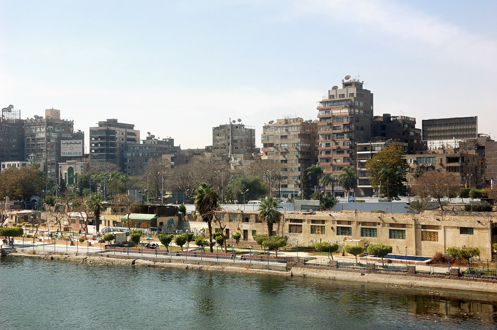 Дома на набережной Нила