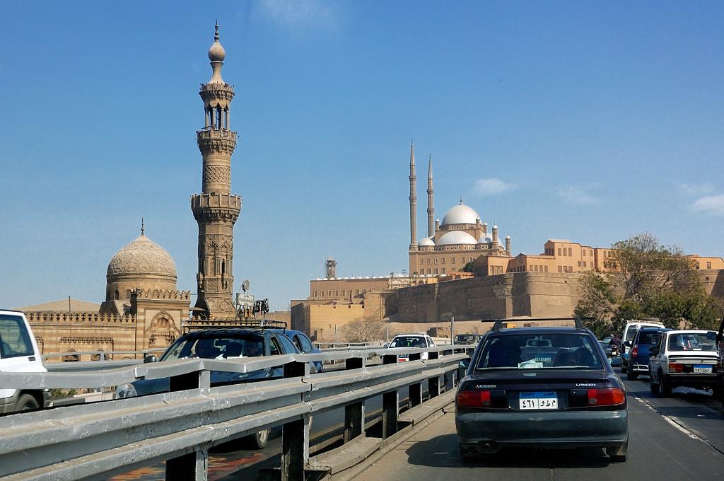 Впереди Цитадель Салах-ад-Дина
