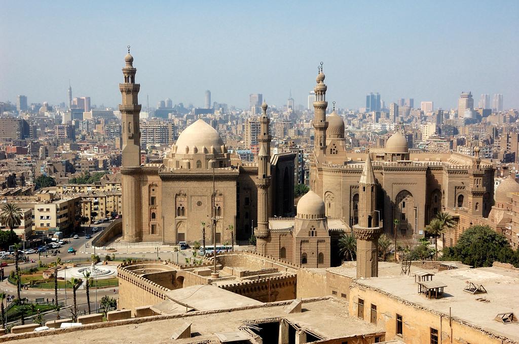 Вид на Каир с Цитадели