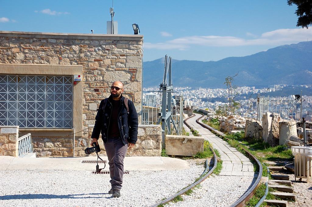 Железная дорога на Акрополе