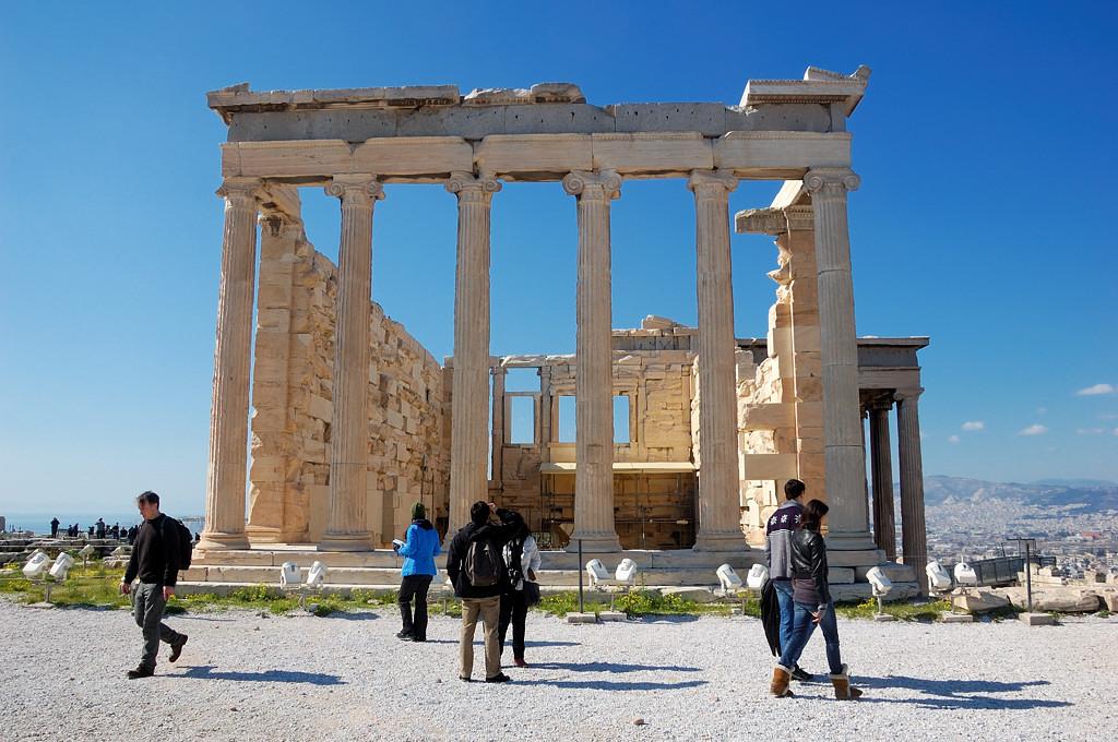 Древние руины Акрополя