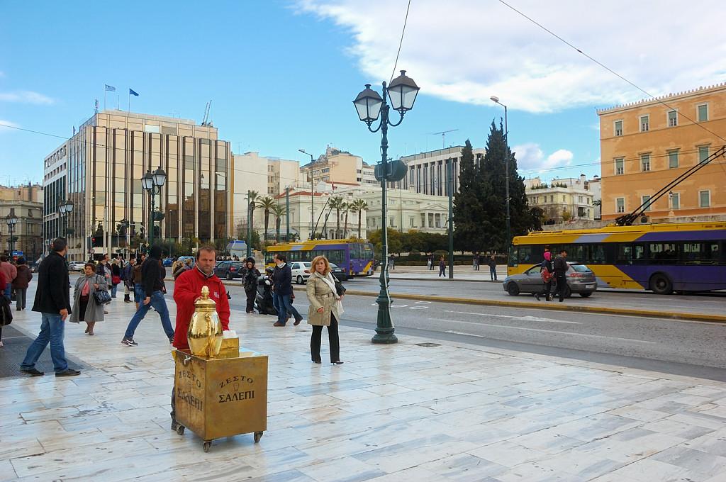 На площади Синтагма