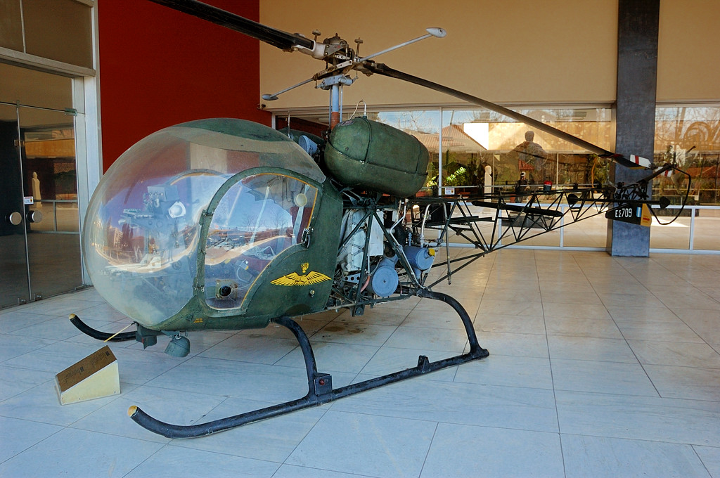 Вертолет Bell H-47