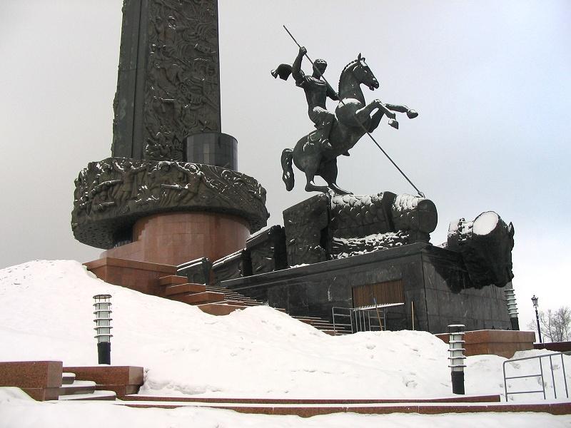 Памятник на поклонной горе судя по