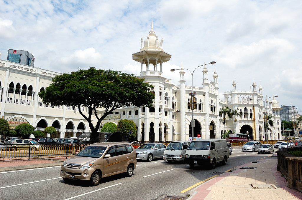 Старое здание вокзала Куала-Лумпура