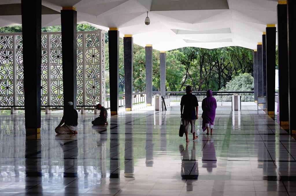 В Национальной Мечети