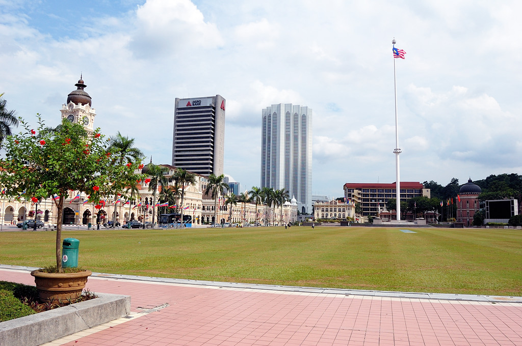 Ансамбль площади Независимости (Merdeka Square)