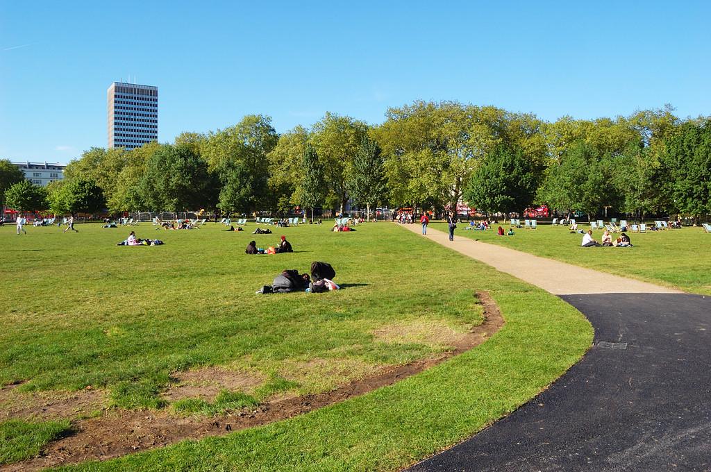 Лондон. В Гайд-парке