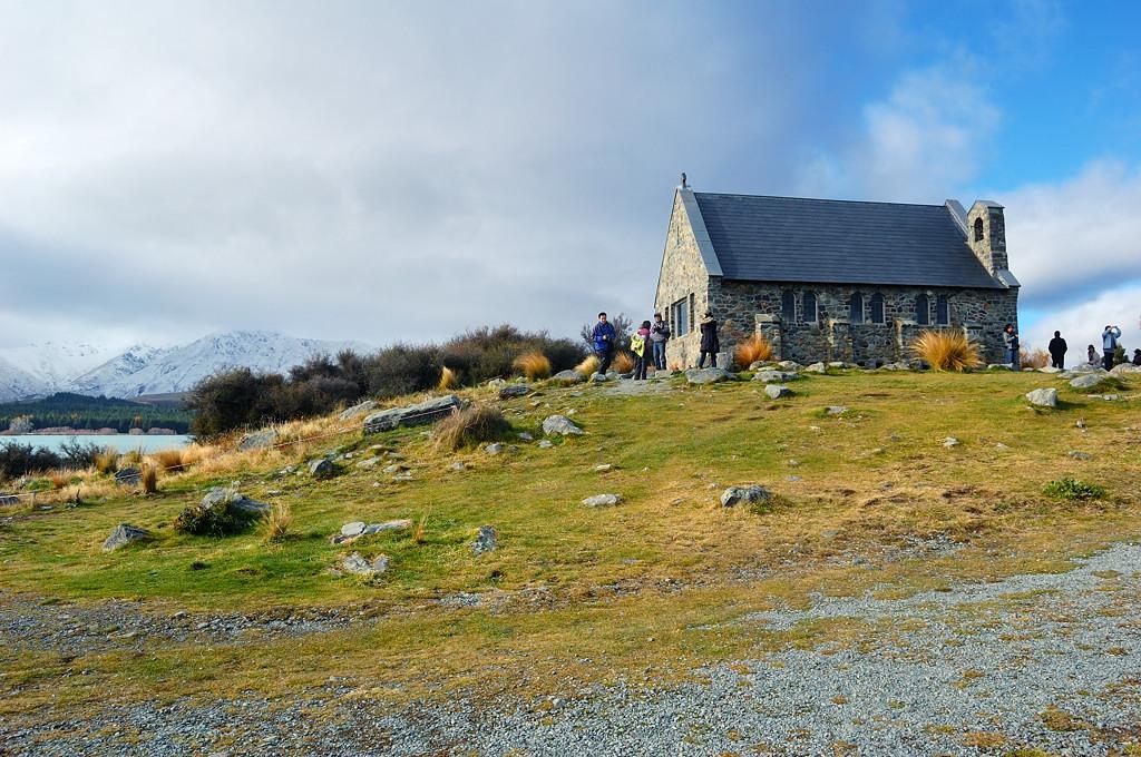 Церковь Доброго Пастыря, главная достопримечательность на озере Текапо