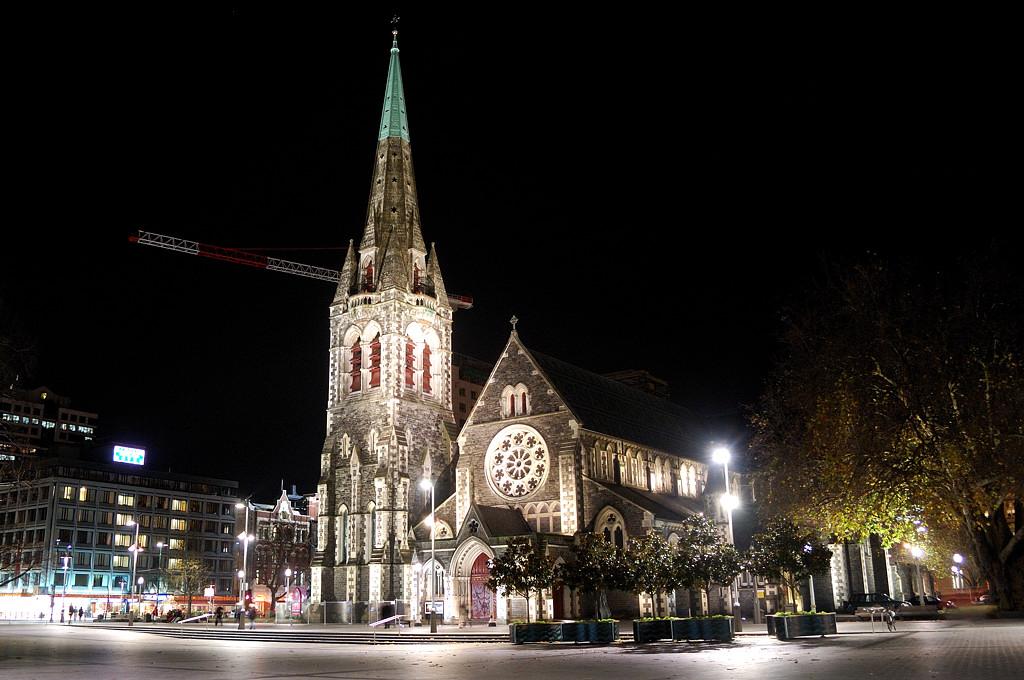 Кафедральный собор в Крайстчерче, визитная карточка города