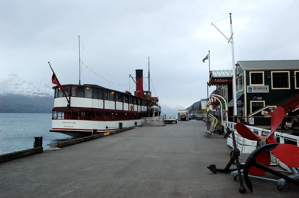 Исторический пароход