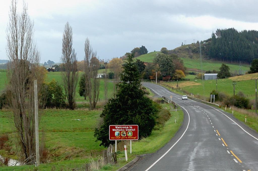 Типичная новозеландская дорога