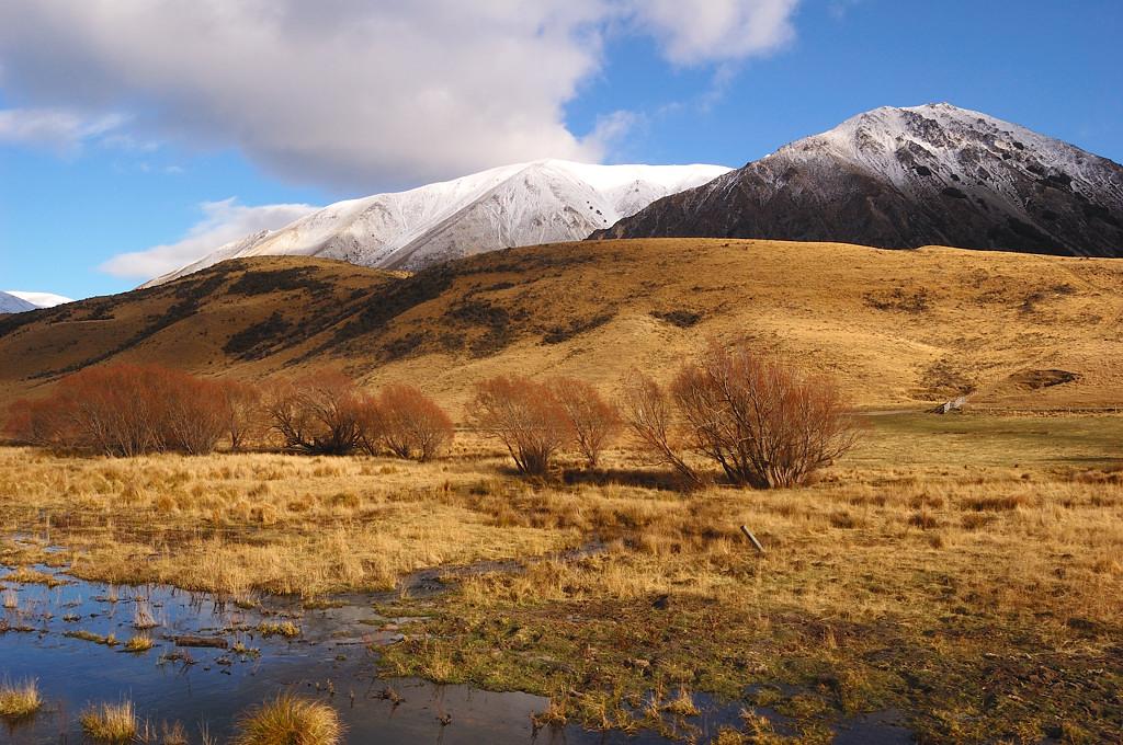 Южно-альпийский пейзаж
