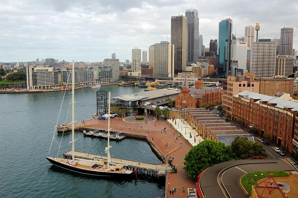 Вид на Circular Quay