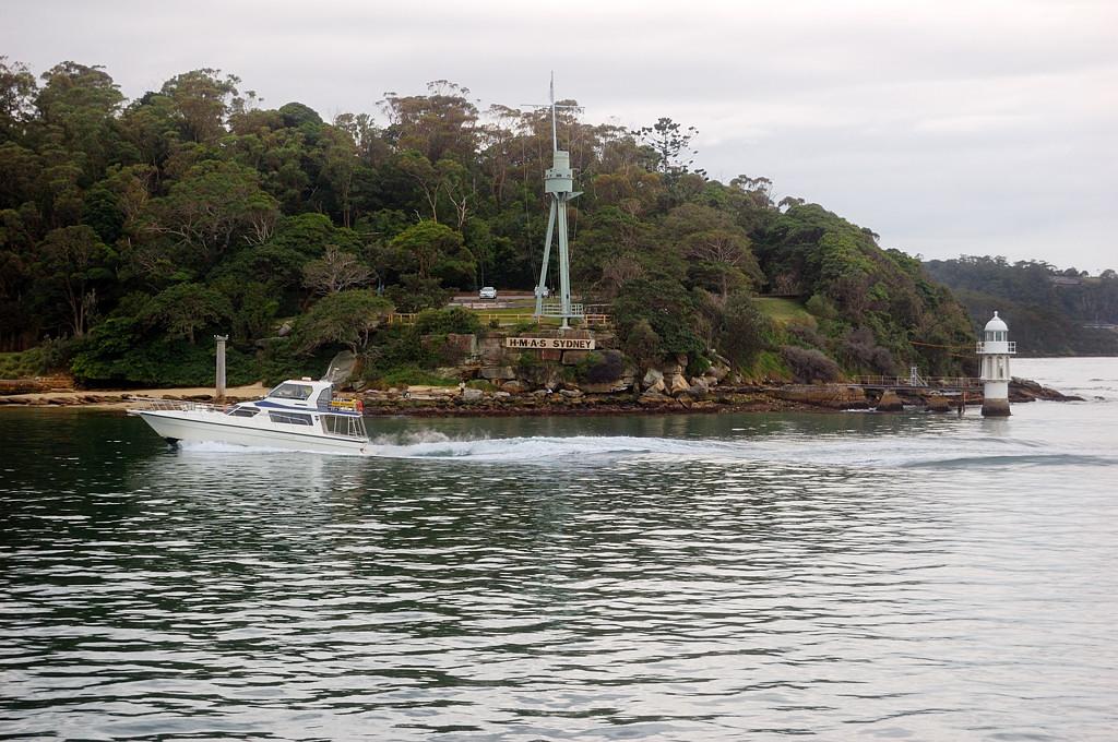 Памятник крейсеру Sydney