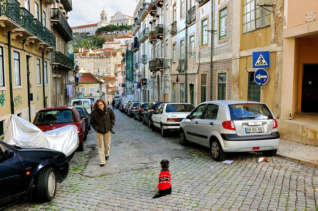 На улицах Лиссабона