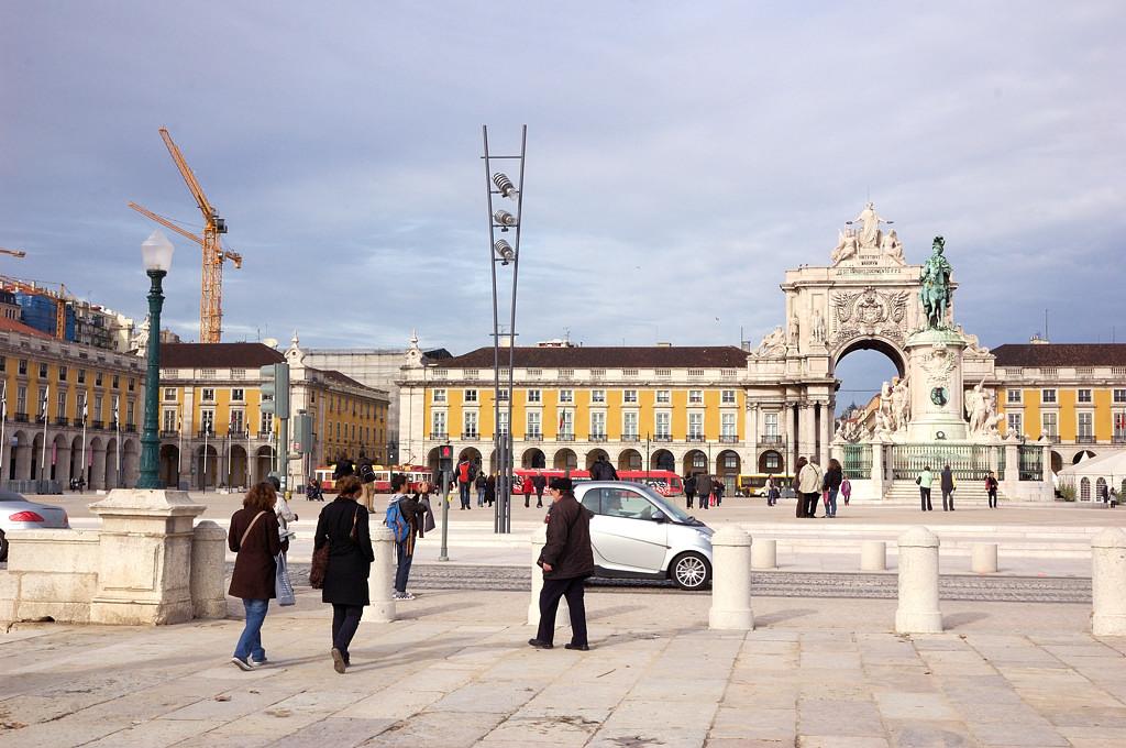 Торговая площадь (Праса ду Комерсио)