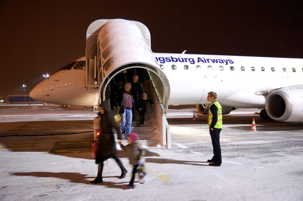 Самолет Augsburg Airlines