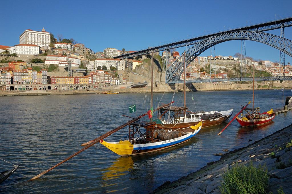 Знаменитый мост имени Луиша I