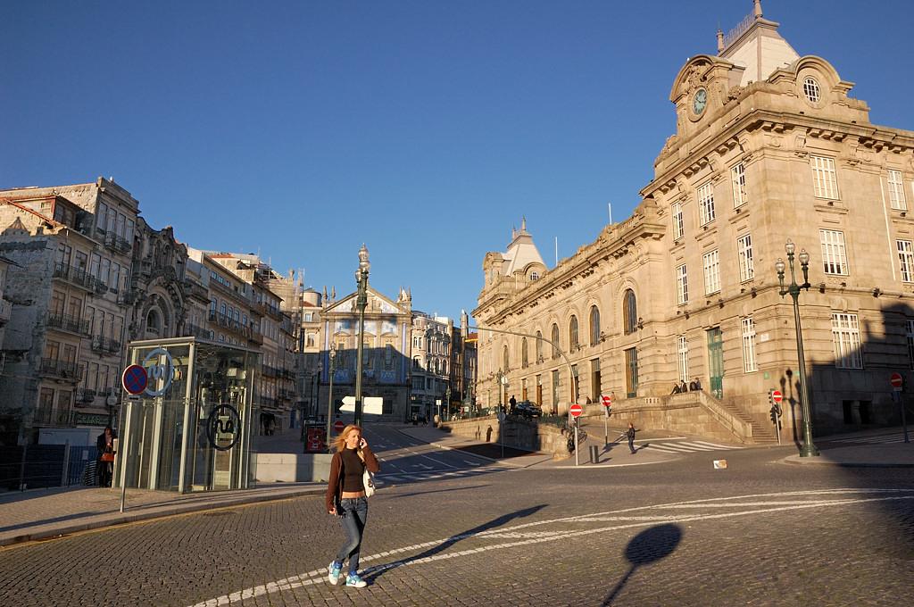 У вокзала Сан-Бенту