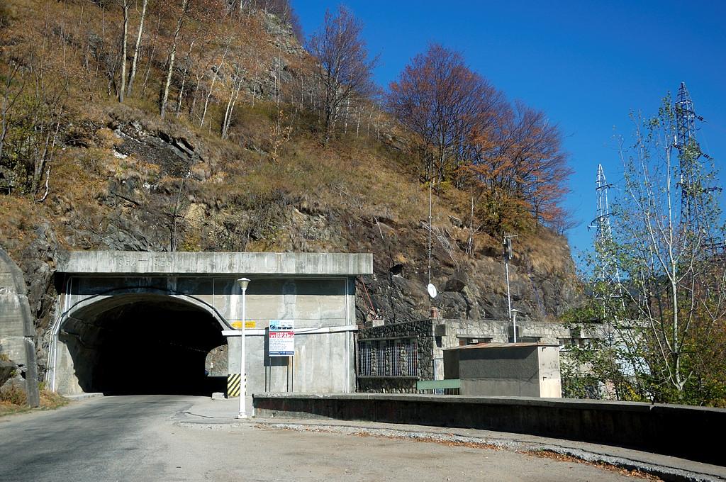 Тоннель перед плотиной ГЭС