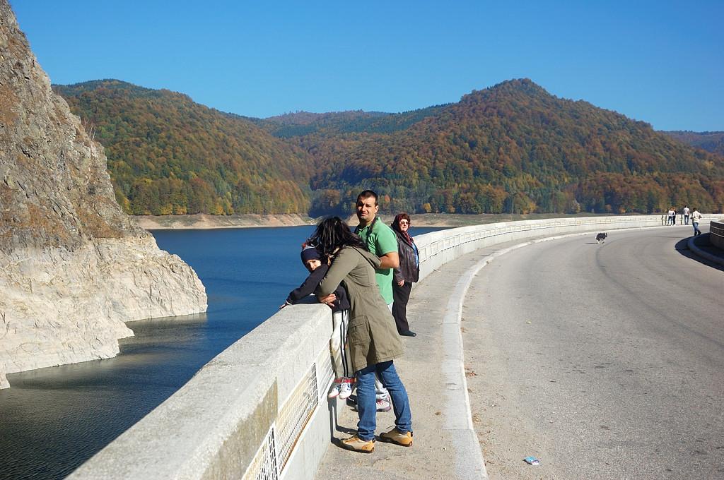 На плотине ГЭС Видрару