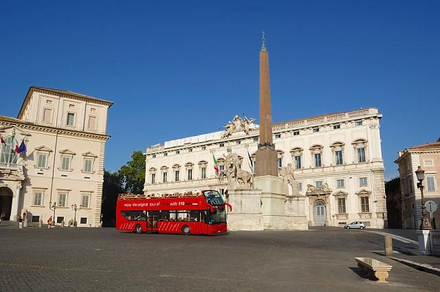 Площадь перед дворцом Квиринале