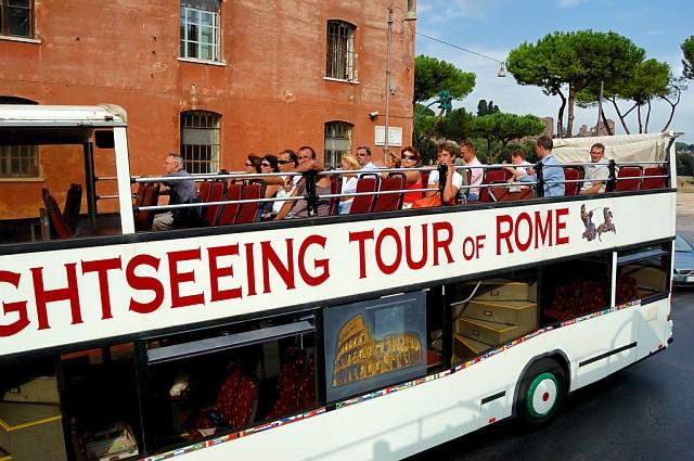 В экскурсионном автобусе
