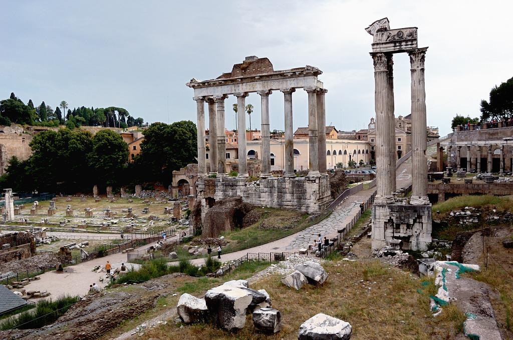 Руины Форума