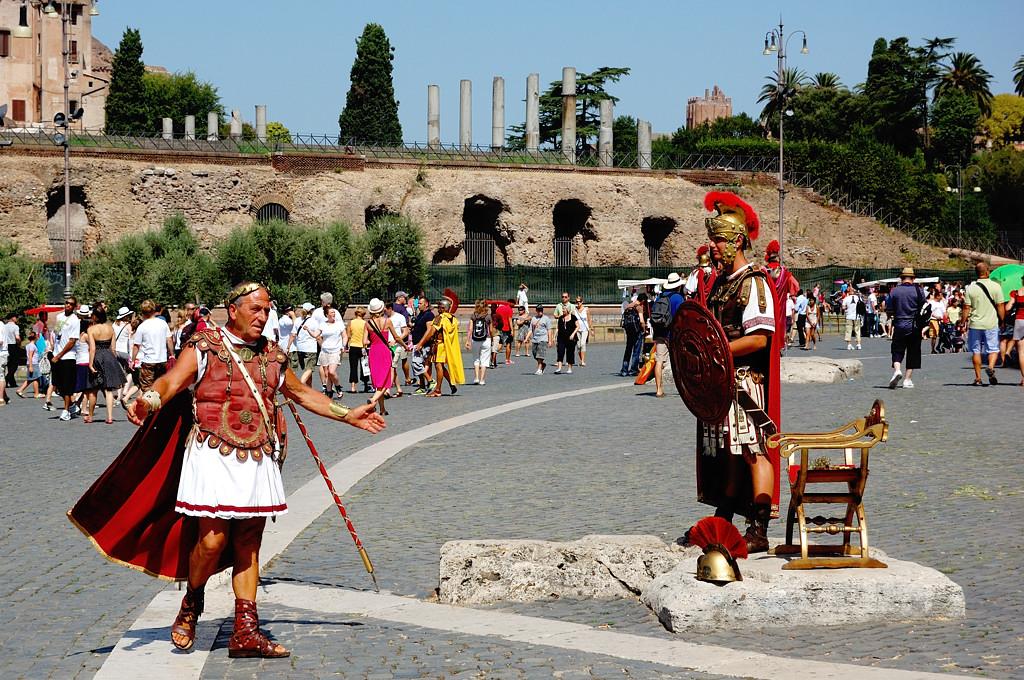 У Колизея
