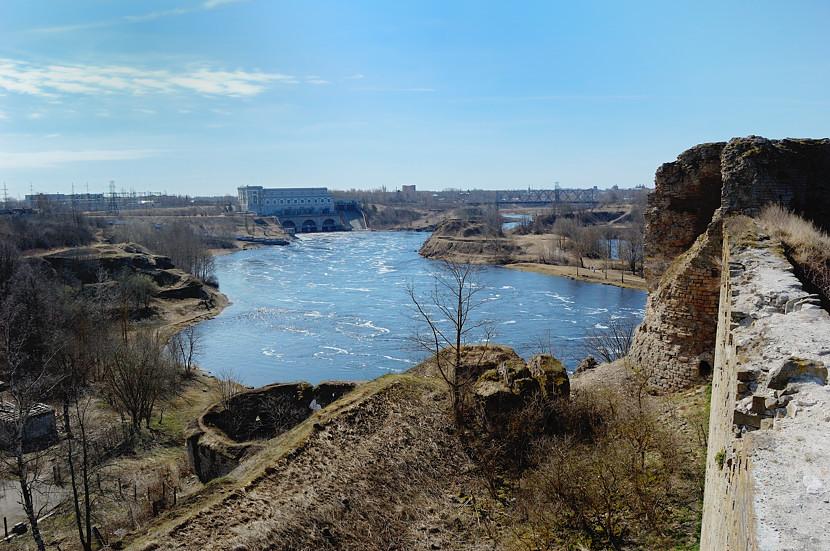 В Ивангородской крепости