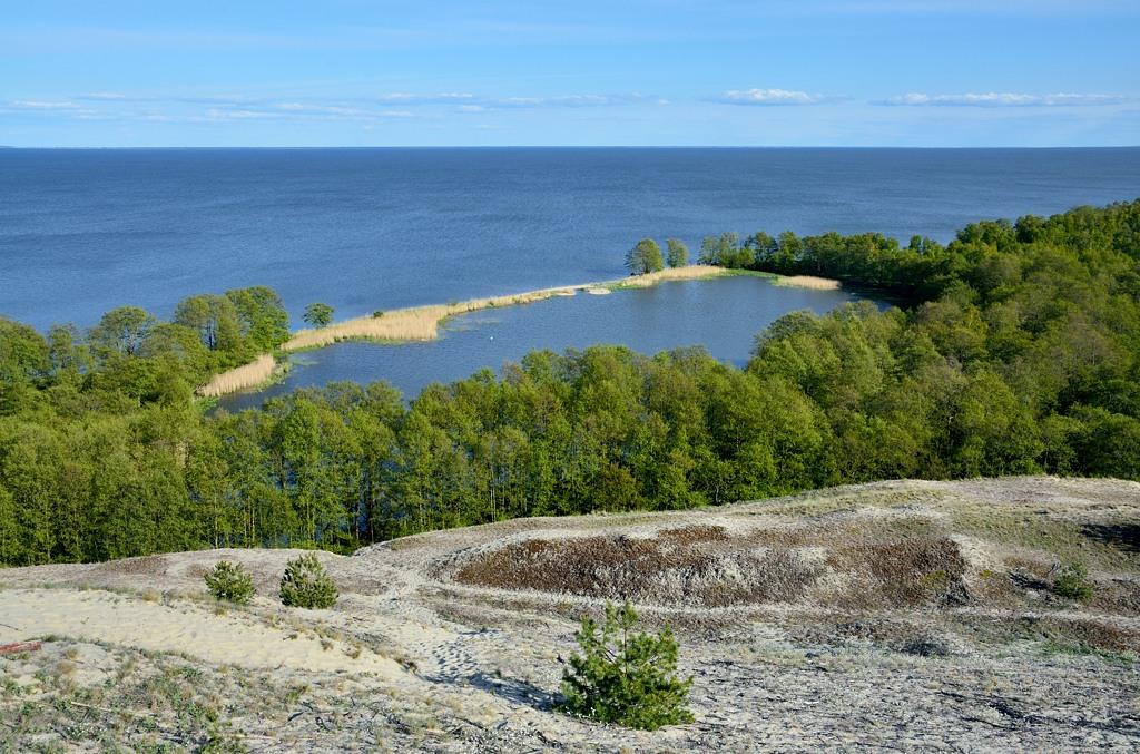 Озеро Лебедь немного с другого ракурса