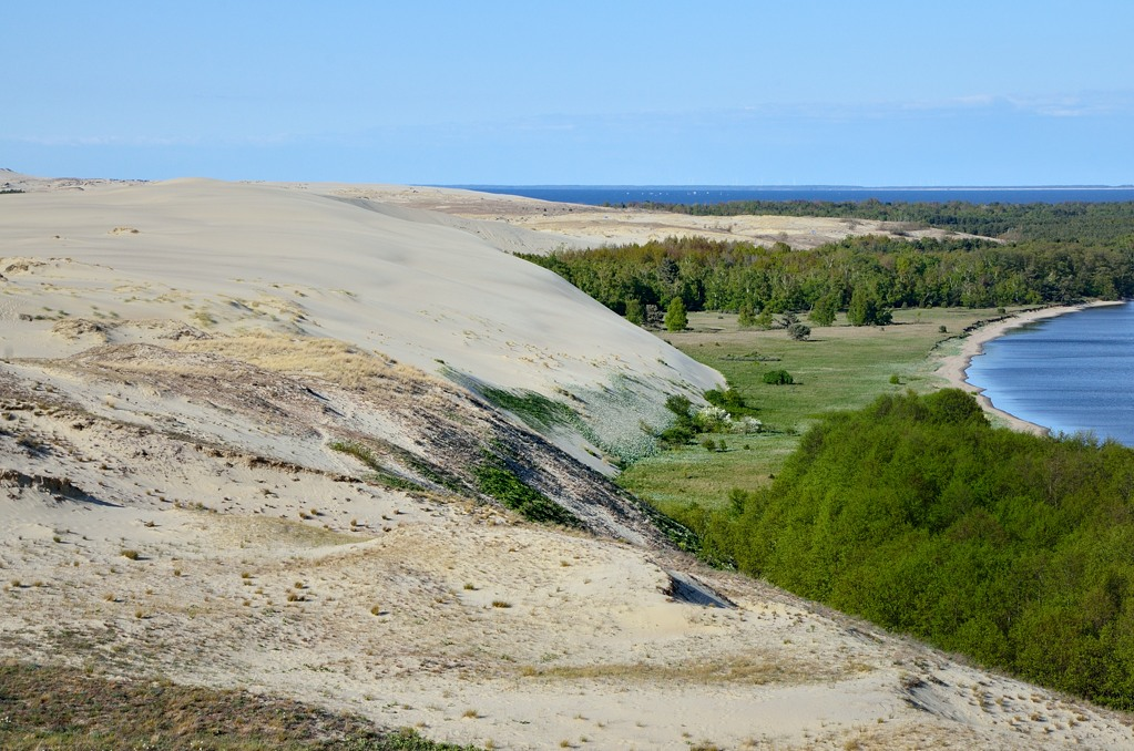 Вид в сторону Литвы. Граница уже недалеко