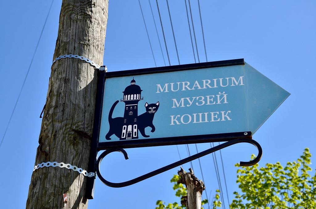 Угадайте, что такое Мурариум? Мурррррр...