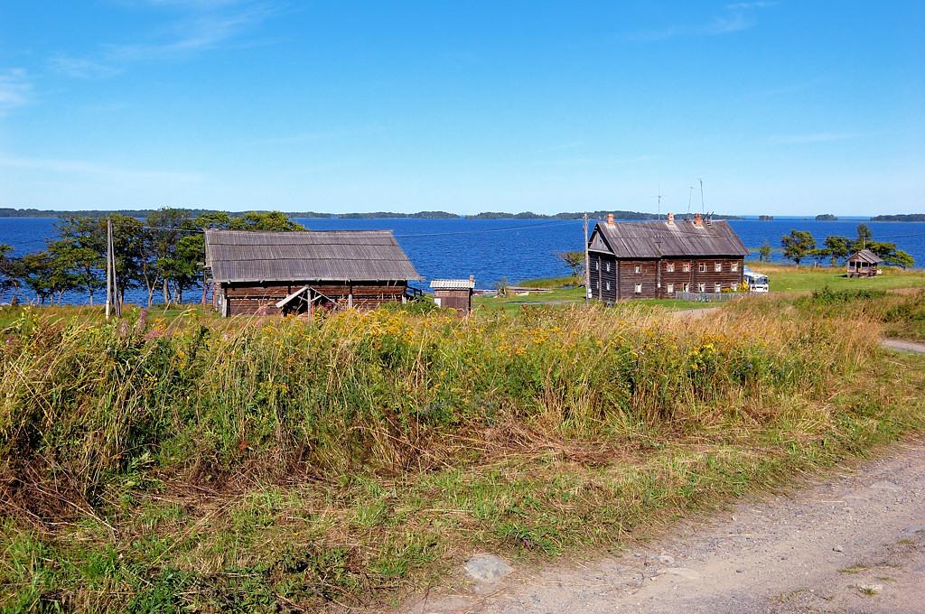 Вид на деревню Ямка