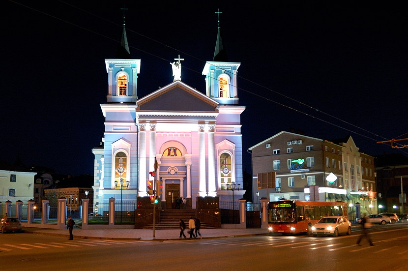Казань ночью